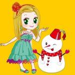 A Princess And A Snowman