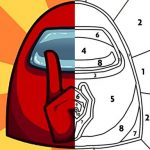 Among Us Coloring Book 1