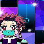 Anime Kimetsu NoYaiba Piano Tiles Game