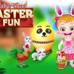 Baby Hazel Easter Fun
