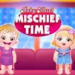 Baby Hazel Mischief Time