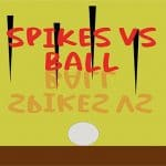 ball vs spikes