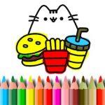 BTS Cute Cats Coloring