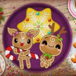 Christmas Gingerbread – Color Me