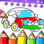 Coloring Games: Coloring Book, Painting, Glow Draw