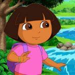 Dora the Explorer Slide