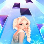 Elsa Game Piano Tiles : Let It Go