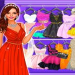 Girl Dress Up and Make Up Mall Shopping
