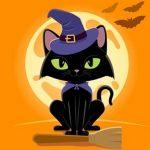 Grumpy Halloween Cats Jigsaw