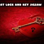 HEART LOCK AND KEY JIGSAW