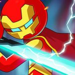 Iron Man – Stickman Fight