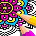 Mandala Coloring Book 2021
