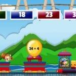 Math Train Addition