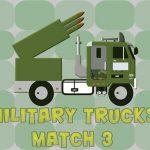 Military Trucks Match 3