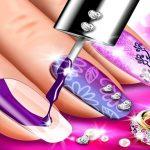 Nail Salon Art Makeover: Manicure Design Game