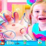 Nastya Hand Doctor Fun Games for Girls Online