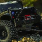 Offroad Jeep Mountain Uphill