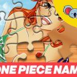 One Piece Nami Jigsaw Puzzle
