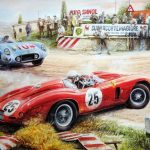 Painting Vintage Cars Jigsaw Puzzle