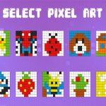 Pixel Coloring kids