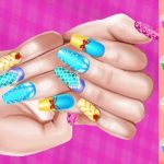 Princess Theme Nail Art DIY