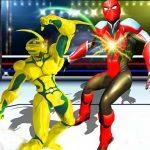 Robot Ring Fighting Wrestling Games