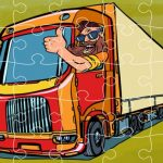 Semi Trucks Jigsaw