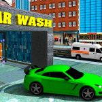 Sports Car Wash Gas Station
