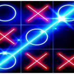 Tic Tac Toe Glow – Arabian night