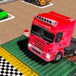 Truck Parking Car Games 3D