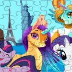 Unicorns Travel The World Puzzle